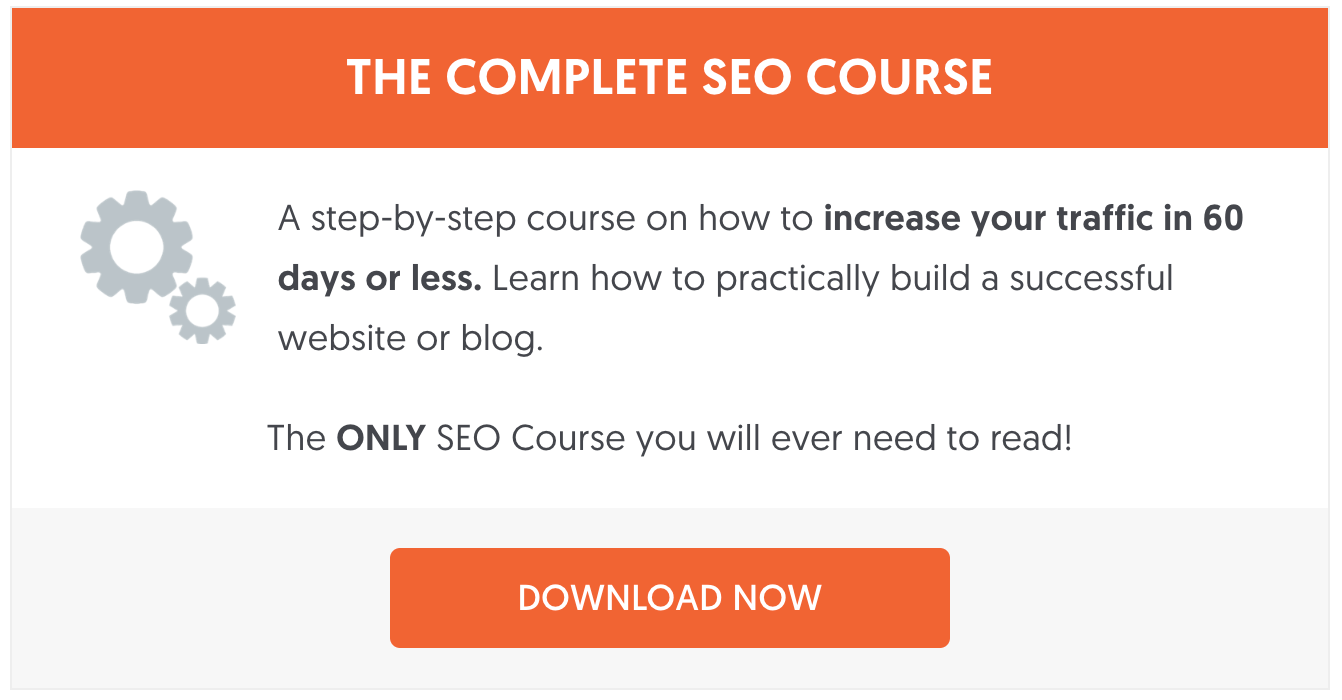 The Complete SEO Course