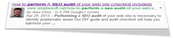 Google authorship is important for SEO