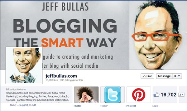 Jeff Bullas Facebook Page