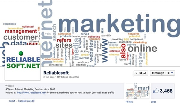 Reliablesoft Net Facebook Page
