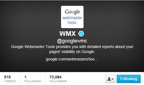 Gogole webmaster tools