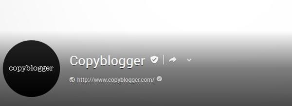 Copyblogger Google Plus