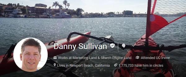 Danny Sullivan Google Plus