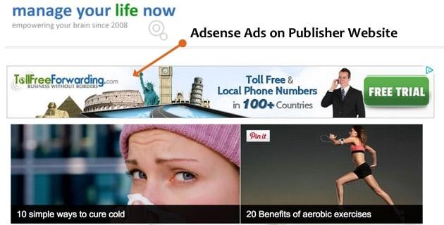 Adsense Example