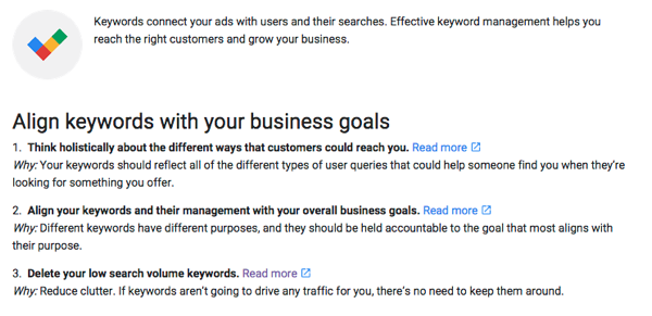 Adwords best practices