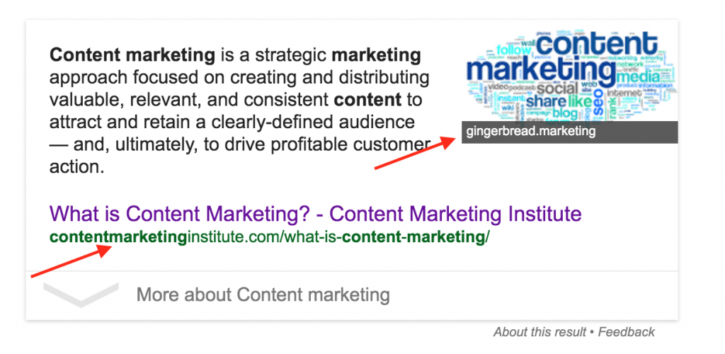 Content Marketing Snippet
