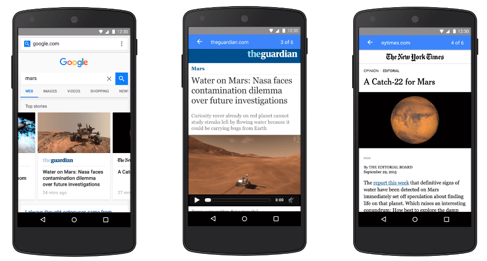 Accelerated Mobile Pages Example