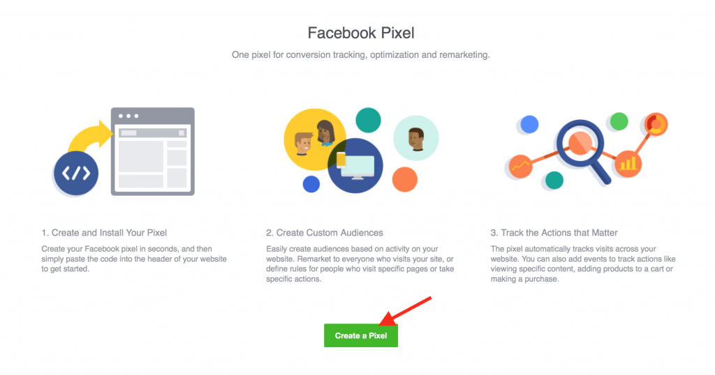 Create new Pixel Facebook