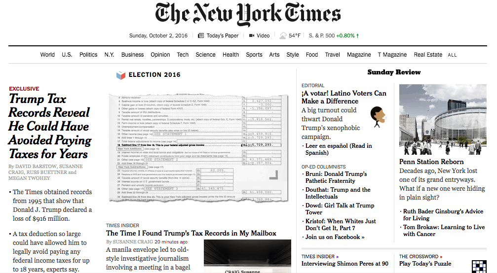 new york times case study