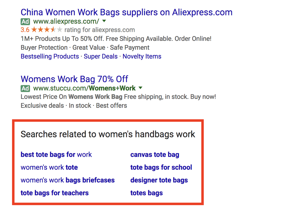 related keyword google search