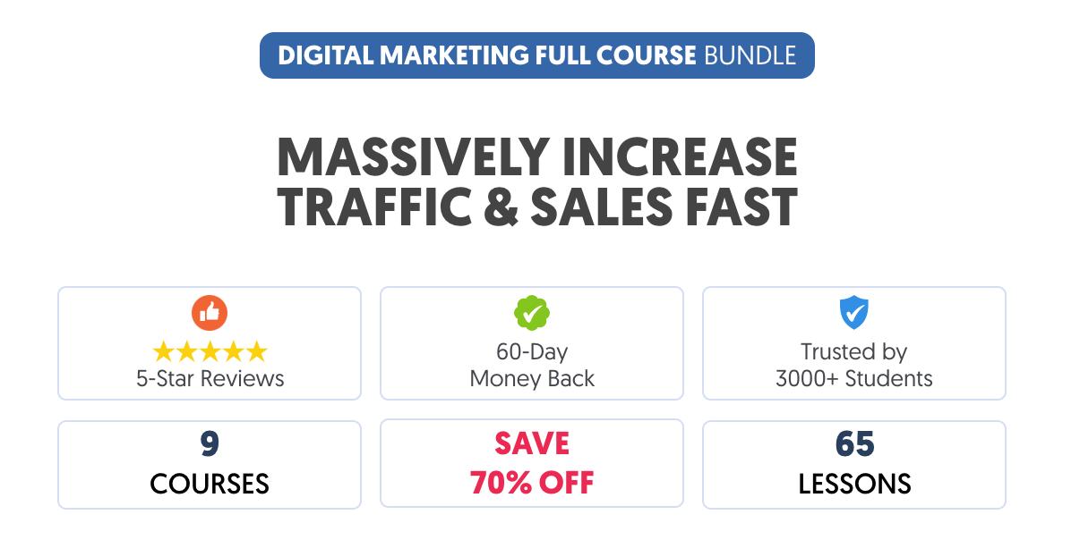 Reliablesoft Digital Marketing Full Course Bundle