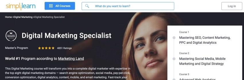Digital Marketing Specialist Course