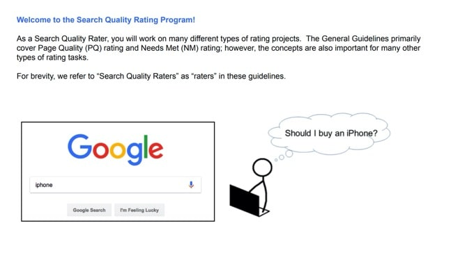 eBook: Google Search Quality Raters Guidelines