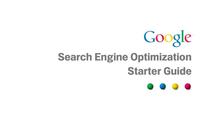 eBook: Google SEO Starter Guide