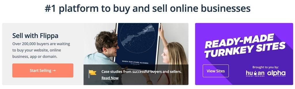 Find online business ideas on Flippa