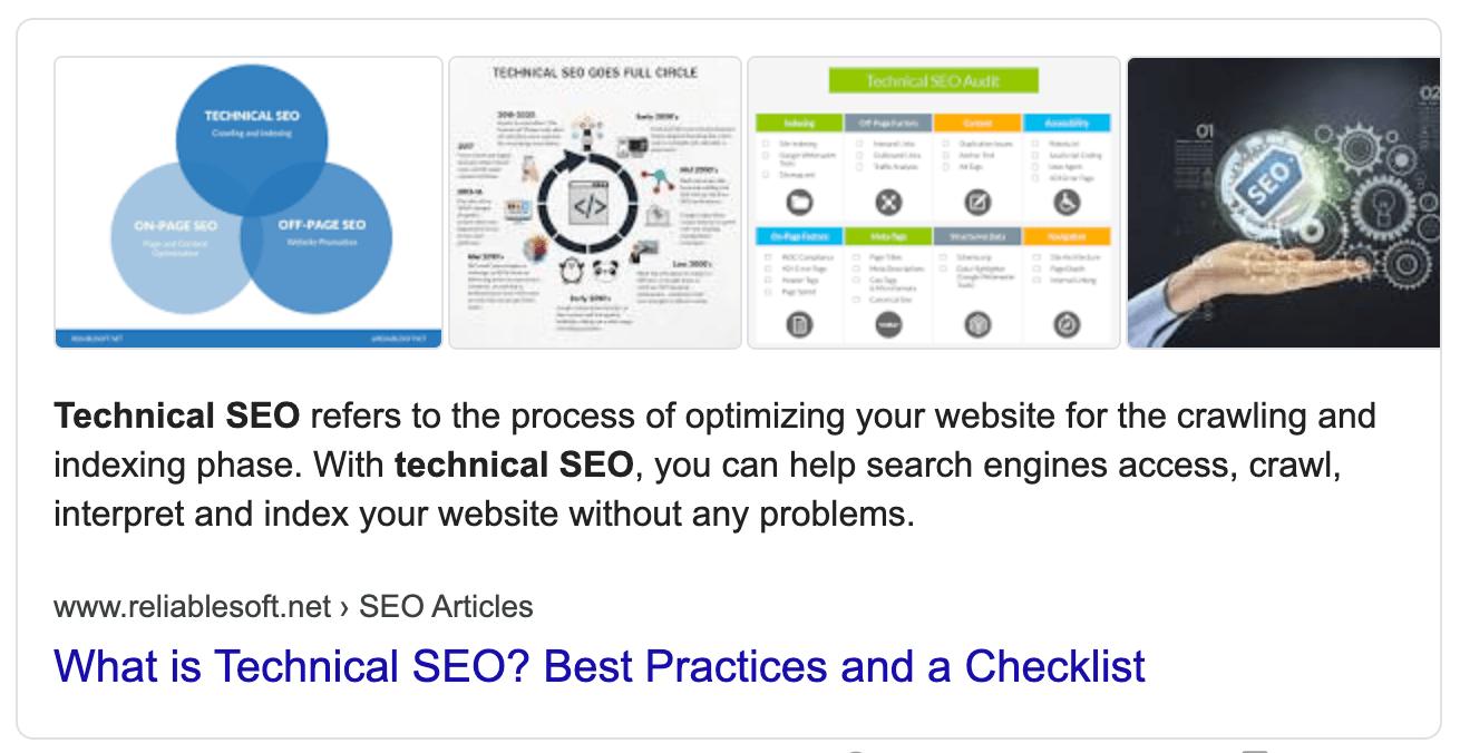 ตัวอย่างตัวอย่างข้อมูลแนะนำของ Google