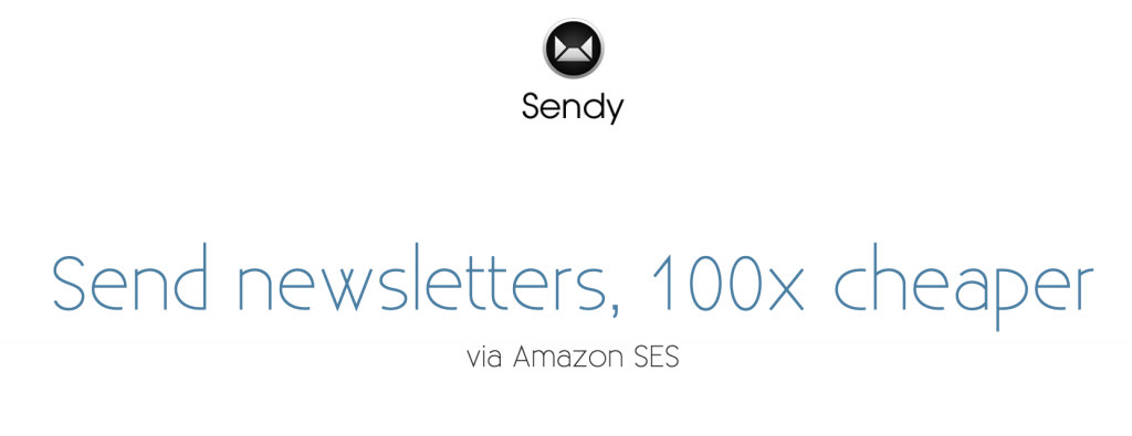 Sendy - Low Cost Email Marketing Solution