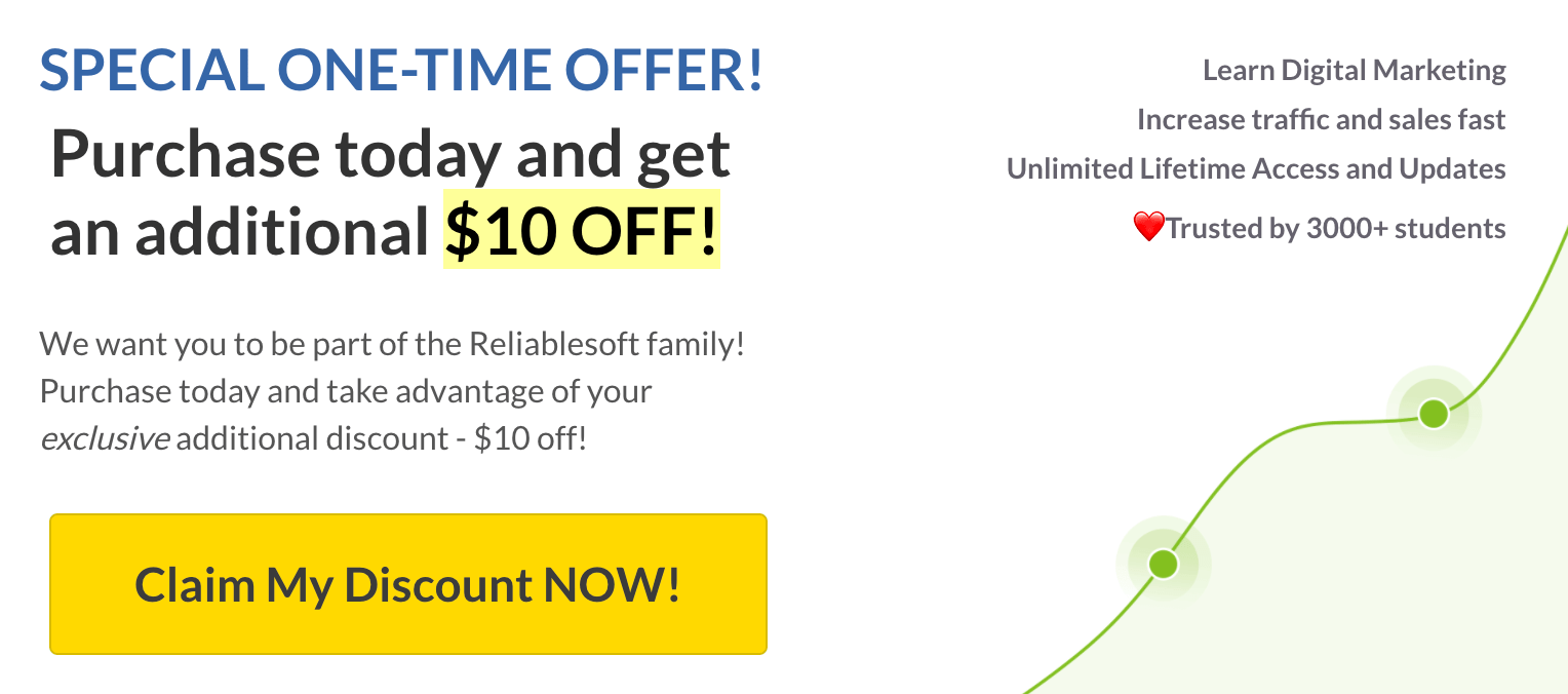 Example: Limited Time Offers