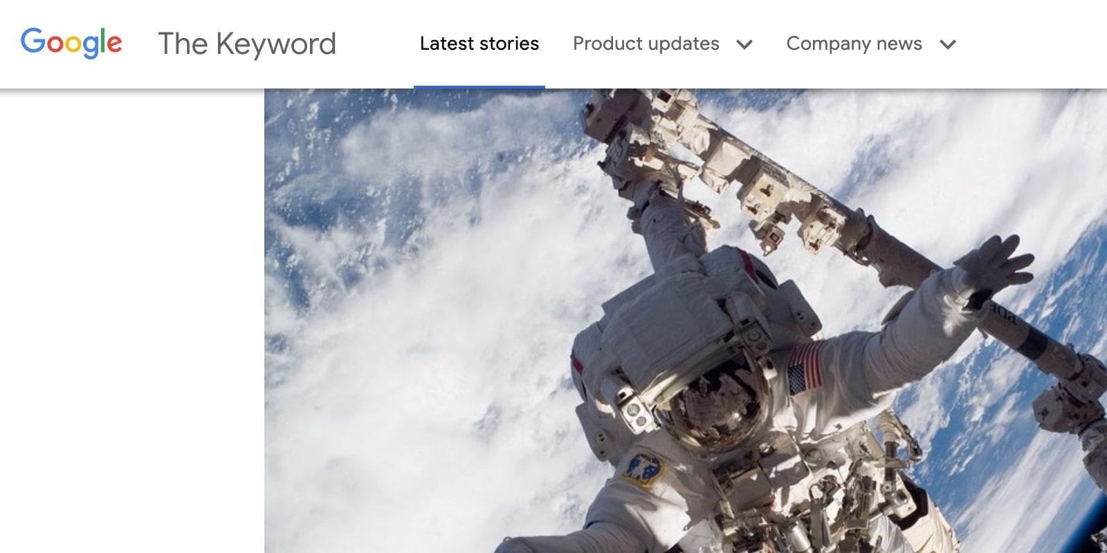 Google Keyword Blog