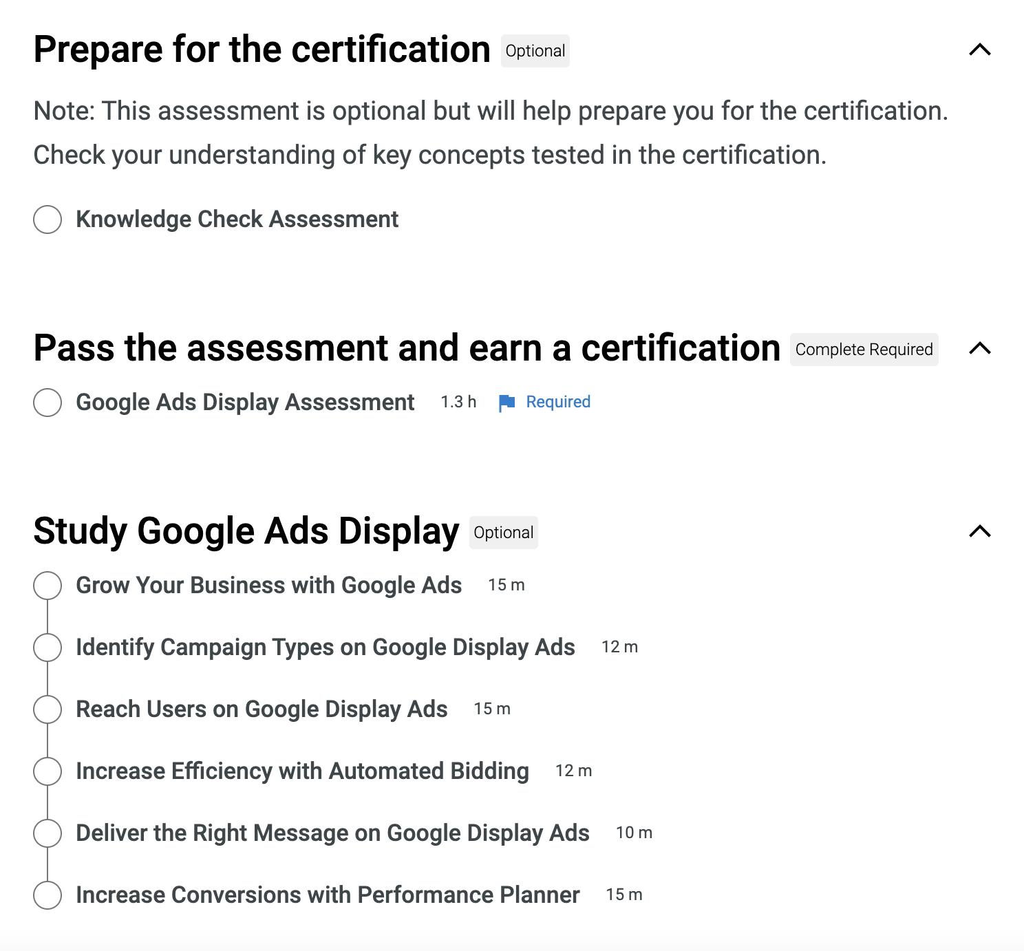 Google Skillshop Preparation Resources