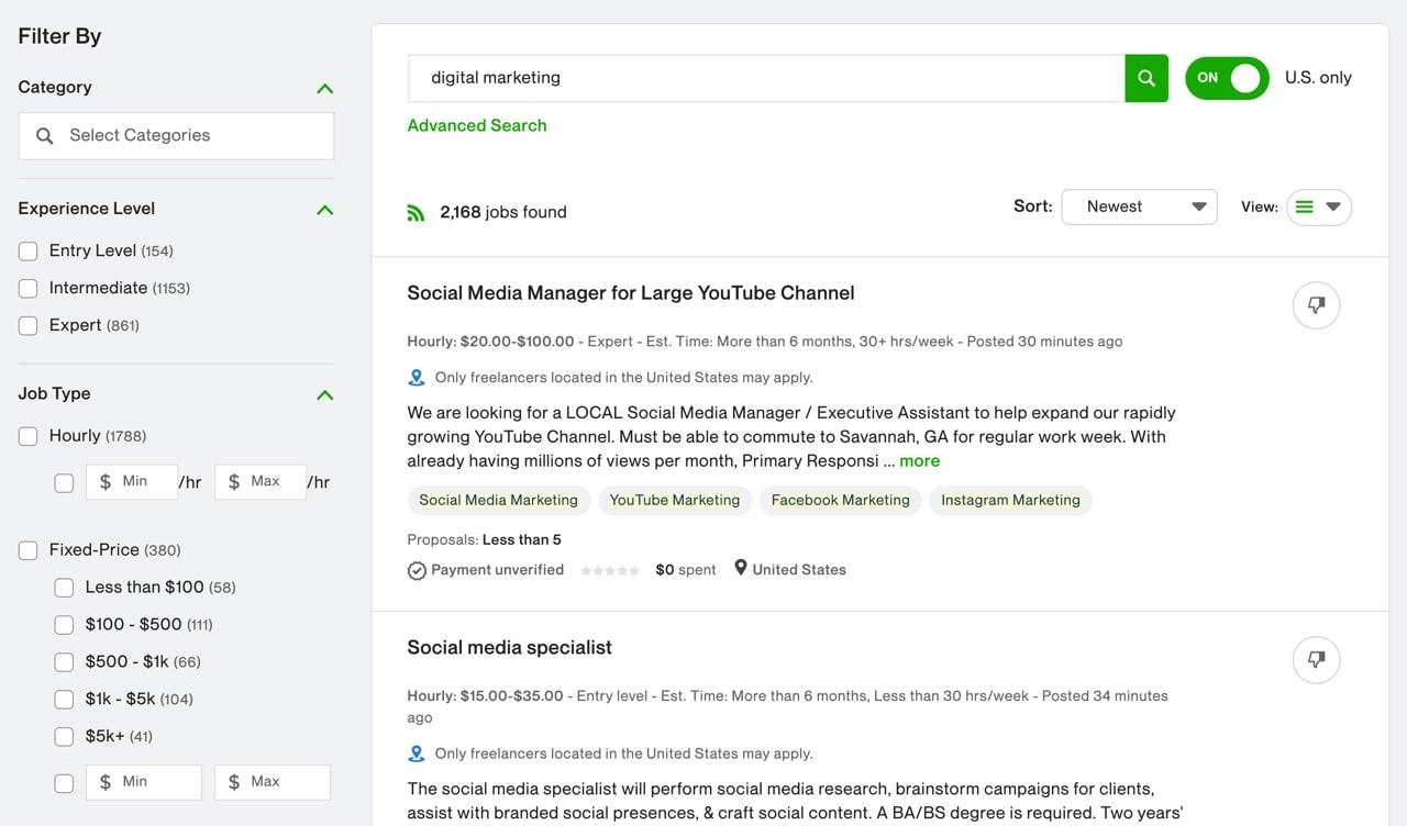 Digital Marketing Jobs Portal