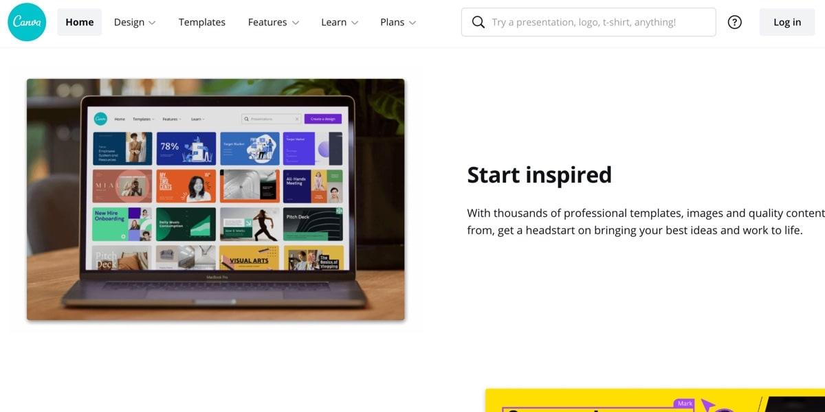 Canva Online Design Tool
