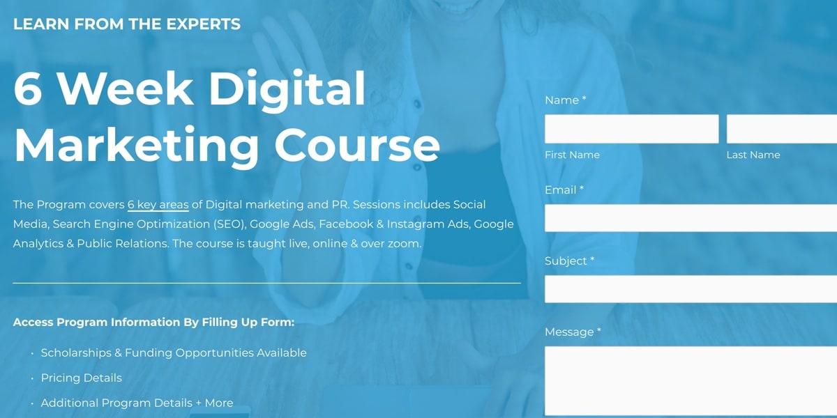 Jelly Academy Digital Marketing Bootcamp