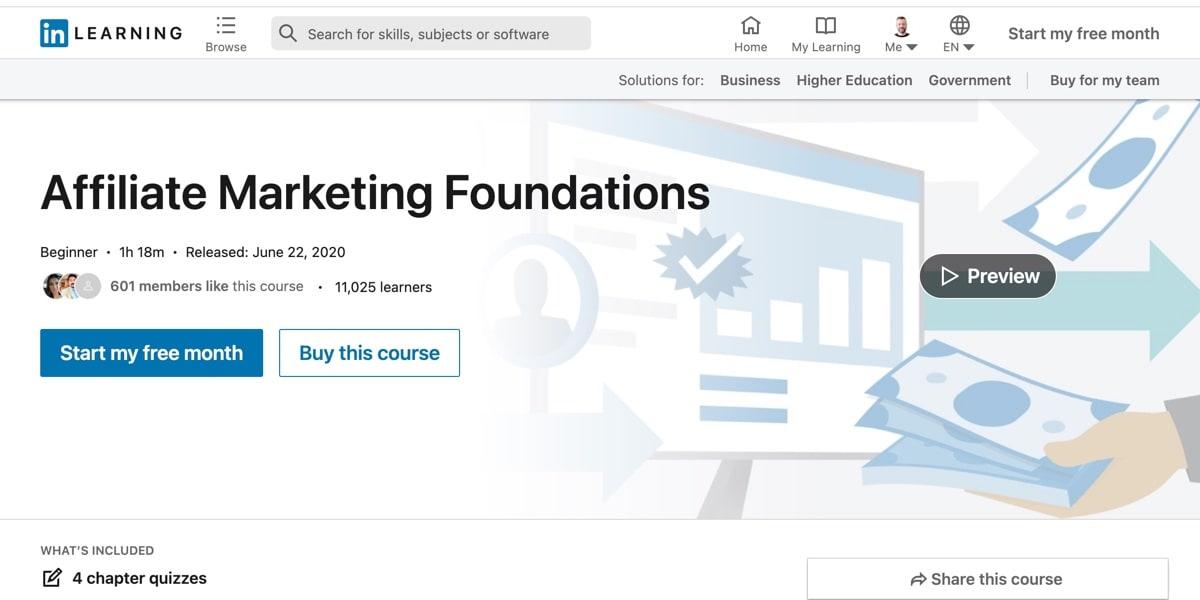 Affiliate Marketing Foundations