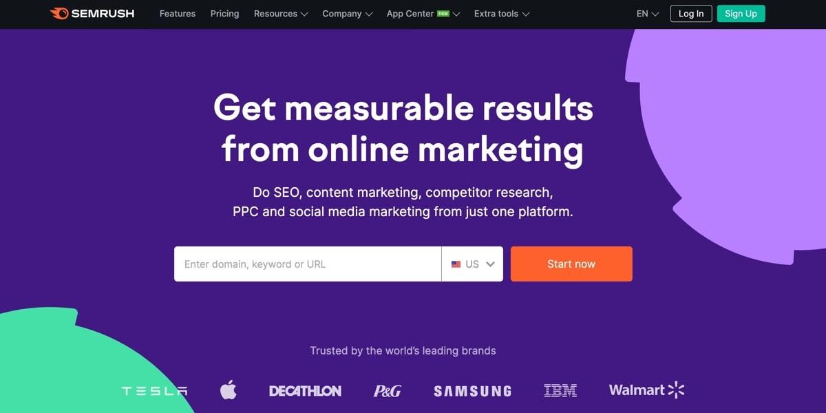 Semrush Marketing Tool